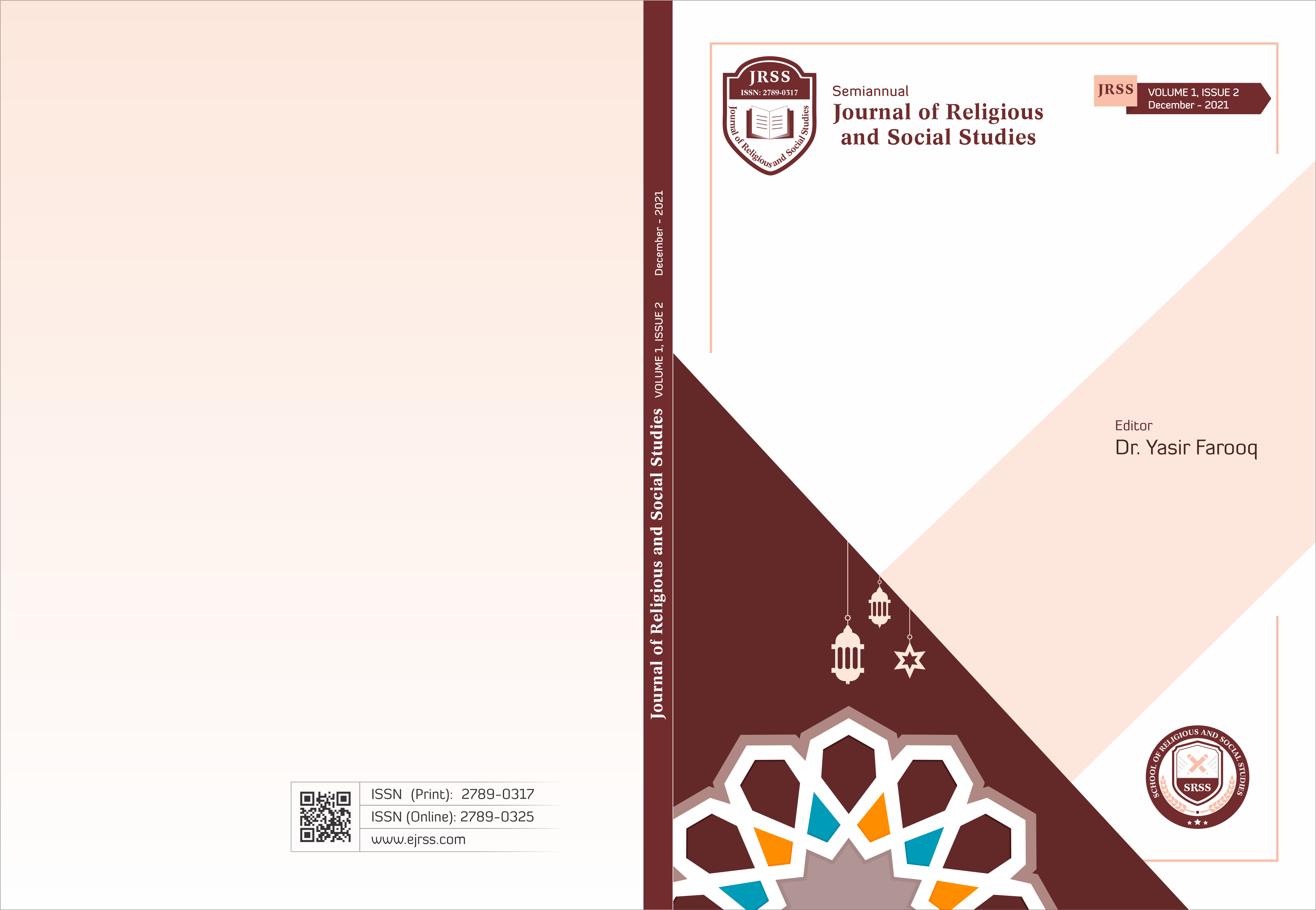 View Vol. 1 No. 02 (2021): Journal of Religious and Social Studies-JRSS